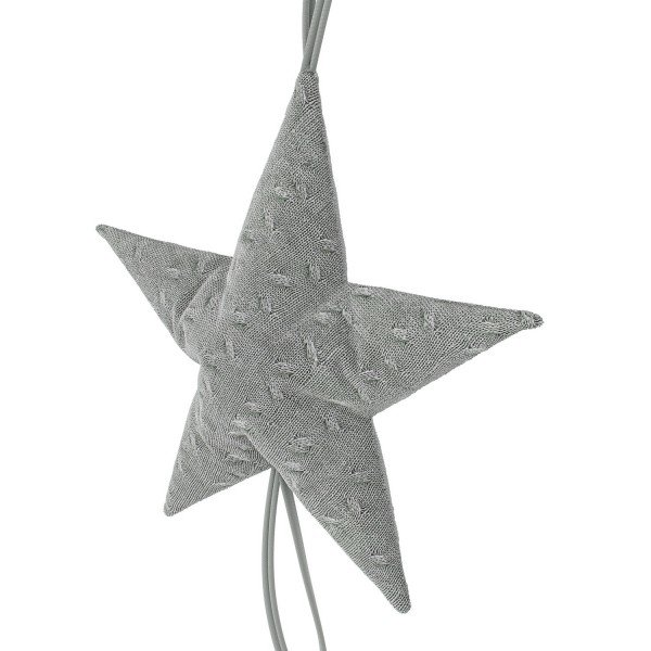 Dekoration Big Star - Grey Knit (gestrickt)