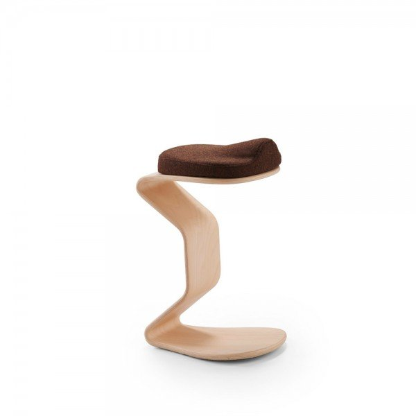 Hocker Ercolino medium mit 3D-Sitzpolster