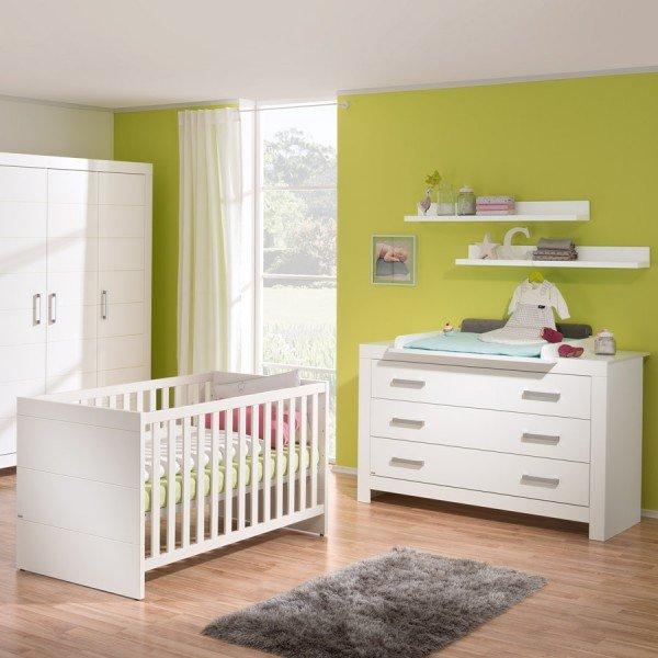 Paidi Fiona Starterset Babymöbel mit breiter Wickelkommode