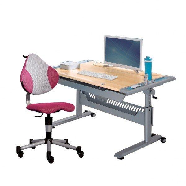Set 14 - Schreibtisch Tablo & Stuhl Pepino (Farben wählbar)