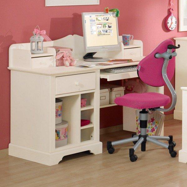 Paidi Sylvie Schreibtisch, hier zu sehen mit kleinem Aufsatz