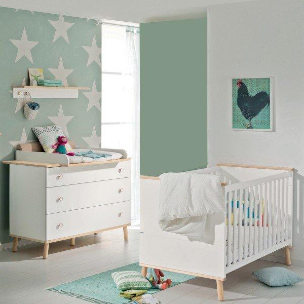 Paidi Ylvie Babyzimmer mit breiter Kommode