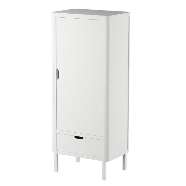 Kleiderschrank, 1-türig, classic white