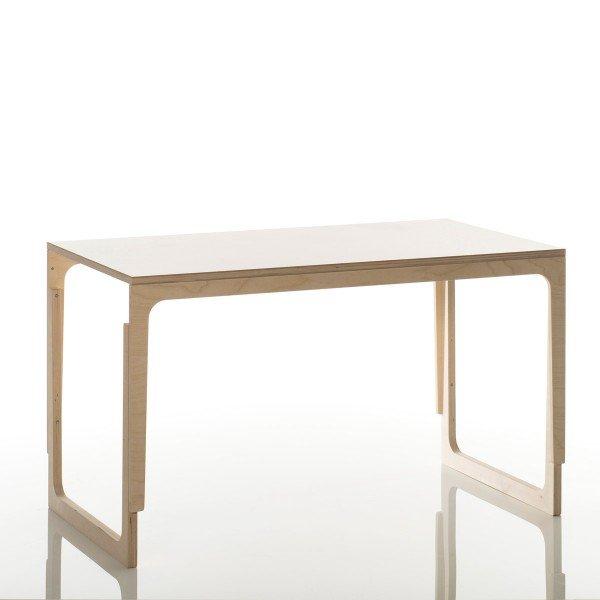 Sibis höhenverstellbarer Schreibtisch Vaclav Birke/Melamin