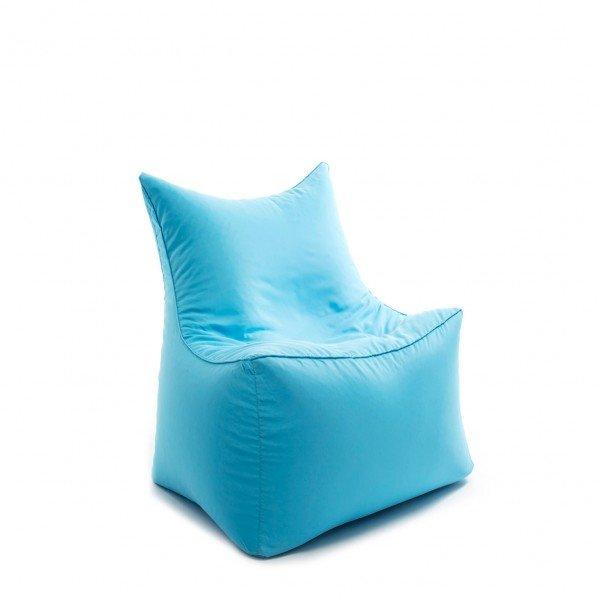 Sitzsack-Sessel cubic seat in türkis