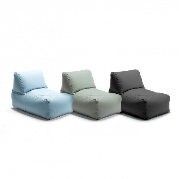 Set aus drei Zipp Sesseln
