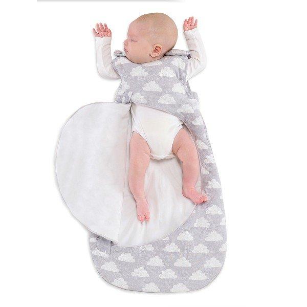 SnuzPouch Baby- und Kleinkind Schlafsack, cloud nine