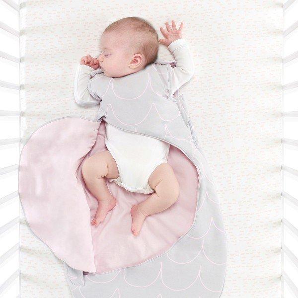 SnuzPouch Baby- und Kleinkind Schlafsack, wave rose