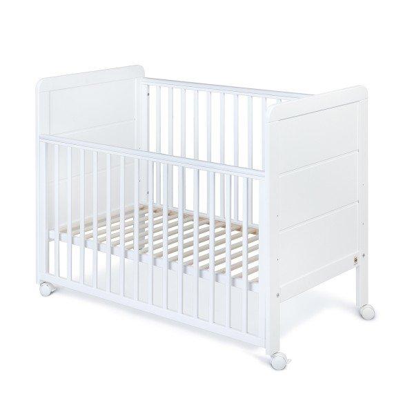 Babybett YappyModern weiß, 120 x 60 cm