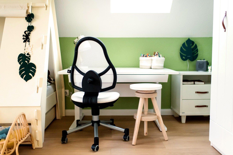 Höhenverstellbarer Schreibtisch Weiß 2021