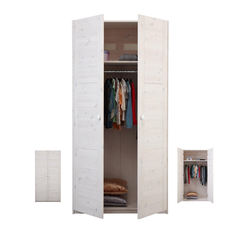 Lifetime Erweiterbarer Kleiderschrank Mit Drehturen B 100 Cm In Whitewash Griffe Wahlbar Jetzt Im Wallenfels Onlineshop