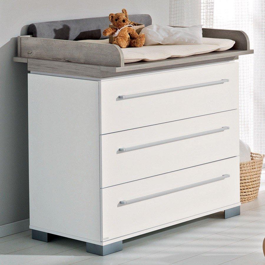 Paidi Kira Babymöbel Starterset   schmale Wickelkommode & Babybett im Wallenfels Onlineshop