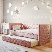 Sofabett Vilena Flamingo, 90 x 200 cm