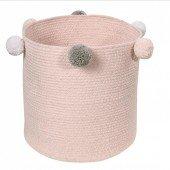 Aufbewahrungskorb Bubbly Pink, 30cm hoch
