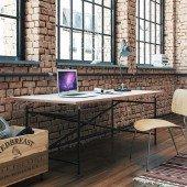 E2 Schreibtisch für Erwachsene (inkl. Tischplatte), Maße nach Wahl