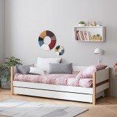 Nor Einzelbett mit Gästebett, 90 x 190 cm