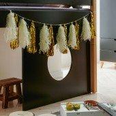 Infanscolor Deko-Element für halbhohes Bett in anthrazit