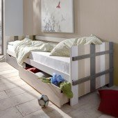 Merlin Funktionsbett mit 2 Bettkästen, multicolor