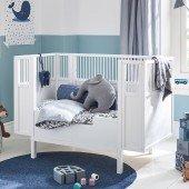 Babybett in weiß (60 x 120cm)