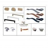 2er Set Lifetime Griffe für Türen und Schubladen