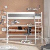 Große Schreibtischplatte 30234 (B 200cm), für Lifetime Hochbetten