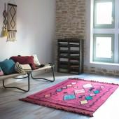 Teppich Assa, rot in 120 x 185 cm