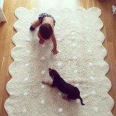 Teppich Biscuit Beige, 120 x 160 cm