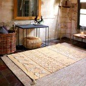 Waschbarer Teppich Tribu Honey S, 120 x 160 cm