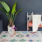 Waschbarer Teppich Kaarol 140 x 200 cm