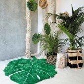 Waschbarer Teppich Monstera Leaf in 120x180 cm