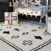 Waschbarer Teppich Naador 140 x 200 cm
