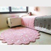 Teppich Little Biscuit Pink, Ø 140cm