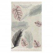 Waschbarer Teppich Tropical Pink 140 x 200 cm