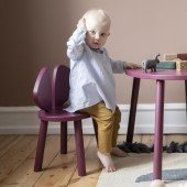 Kinderstuhl Mouse Chair in Burgundy (2 - 5 Jahre)