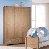 Eike Kleiderschrank mit 3 Türen und einer Schublade *Nachkaufserie*