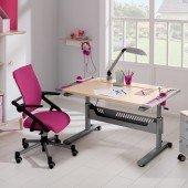 Set 12 - Schreibtisch Tablo & Stuhl Tio (Farben wählbar)