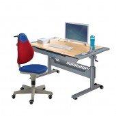Set 13 - Schreibtisch Tablo & Stuhl Pepe (Farben wählbar)