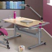 Tablo Schreibtisch Ahorndekor mit Dekorset (Farbwahl)
