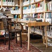 Caspar Senior Schreibtisch aus Eiche massiv (höhenverstellbar)