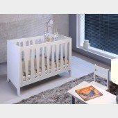 Moon Babybett / Sofabett in weiß, 60 x 120cm, MDF