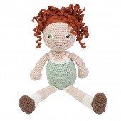 Häkel-Puppe Hanna, 40 cm hoch