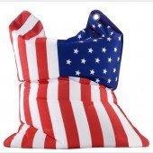 the fashion bull Sitzsack Stars & Stripes (USA Fahne)