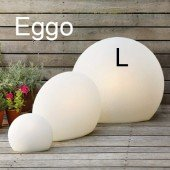 Designer-Bodenleuchte Eggo L, H 65 cm (für Indoor/Outdoor)