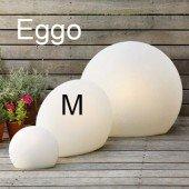 Designer-Bodenleuchte Eggo M, H 45 cm (für Indoor/Outdoor)