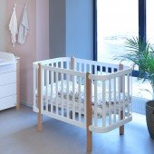 Babybett YappyEtude weiß, 120 x 60 cm