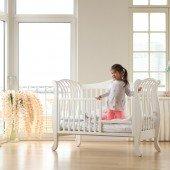 Babybett YappyLa:le weiß, 120 x 60 cm