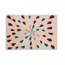 Kinder Teppich Gotas 140 x 200 cm (Tropfenmotiv)