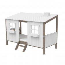 Classic Hüttenbett Little Home Terra / weiß