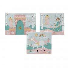 Fairy Tale Spielvorhang (für halbhohe Betten + Etagenbett 154cm)