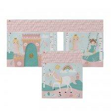 Fairy Tale Spielvorhang mit Verlängerung (für mittelhohe Betten + Etagenbett Maxi)